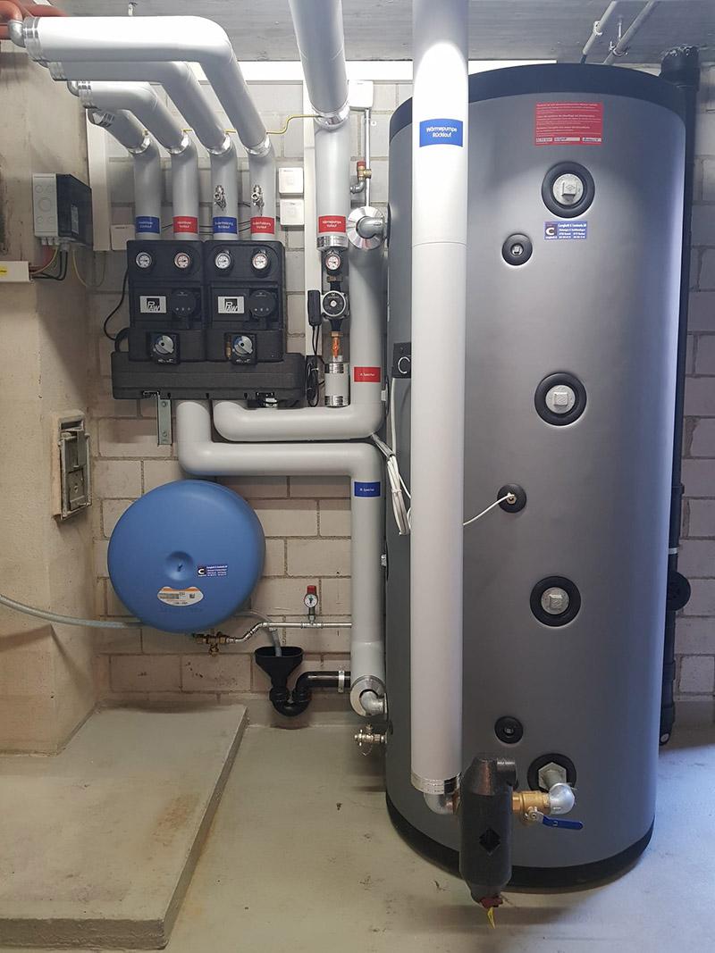 Cereghetti Caminada - Luft-Wasser-Wärmepumpe